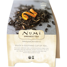 "Numi is certified USDA Organic, Non GMO Project Certified, and display the Verified Fair Labor seal. They contain no pesticides, GMOs, artificial or ""natural"" flavors, and there are no toxins in their packaging They offer a Beverage Recipe Guide that is available as a booklet or downloadable PDF. http://shop.numitea.com/Beverage-Recipe-Guide/p/NUMIS-99726&c=NumiTeaStore@Foodservice@MarketingSupport"