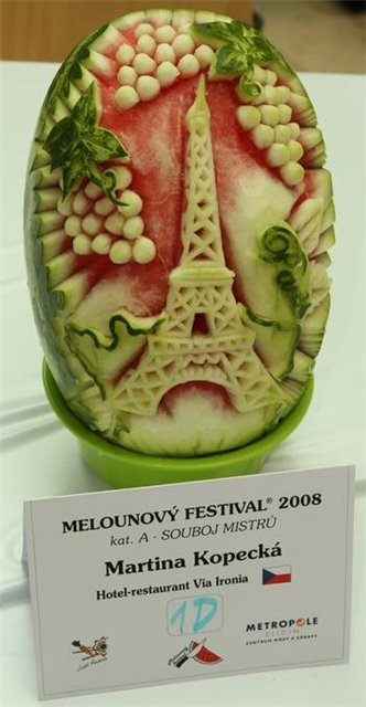 paris watermelon competition entry