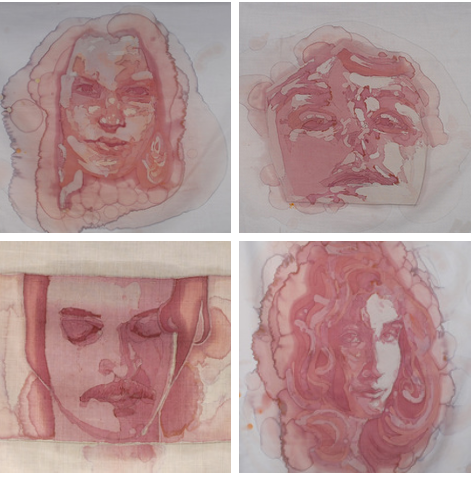 2012 Wine Stain Portraits